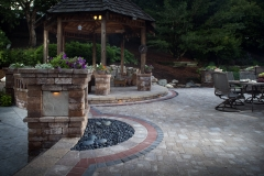 Belgard Hardscape photographs from Kansas, Missouri and Nebraksa with product manufactured by Miller Rhino.